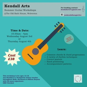 Kendall Arts Guitar Workshops